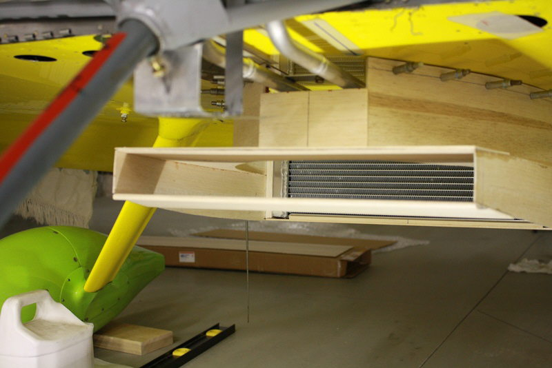 Rad Duct From Forward End Looking Aft