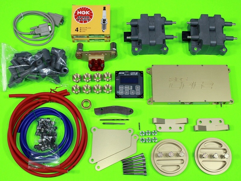 cpi-2 kit for lycoming 4 cylinder engine  no wiring harnesses shown but  these are included