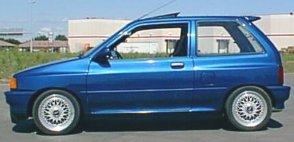 1990 Ford Festiva Turbo