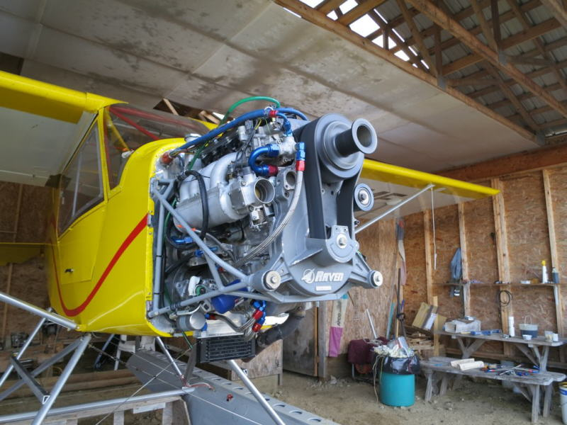 Mini Merlin Suzuki Aircraft Engine Conversion
